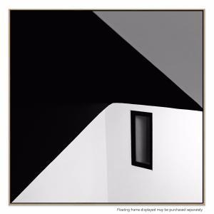 Black Window - Canvas Print