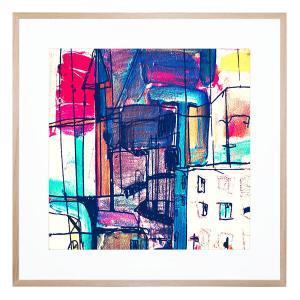 London Calling - Framed Print