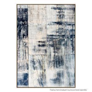 Concrete Denim - Canvas Print