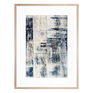 Concrete Denim - Framed Print