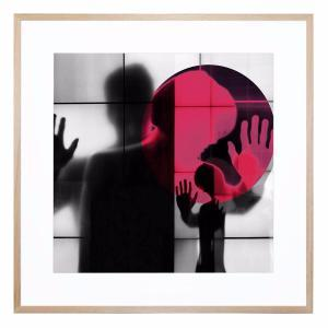 Body Language 36 - Framed Print
