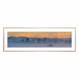 Early Fishing - Framed Print