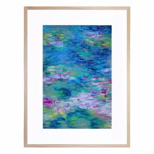 A Touch of Monet - Framed Print