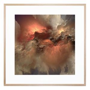 Saintly Sky 2 - Framed Print