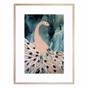Peacock - Framed Print
