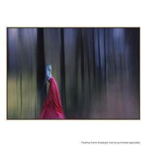 Lady in Red - Canvas Print