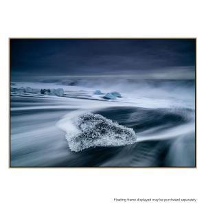 Crystal Ice - Canvas Print
