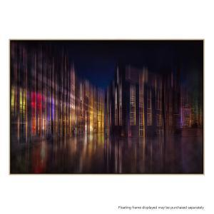 Colorful Amsterdam - Canvas Print