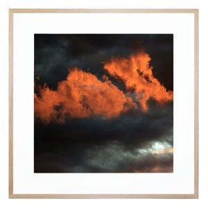 Fire Cloud - Framed Print