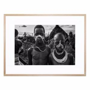 Bilta and Soni - Framed Print